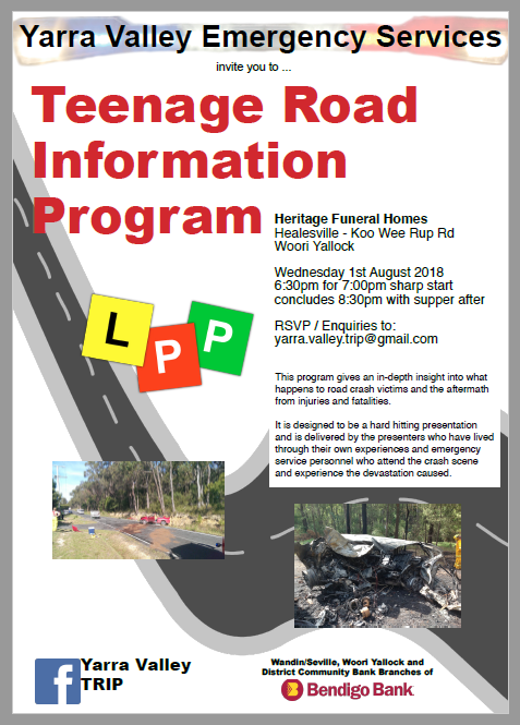 Teenage Road Information Program