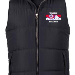 WJFC Short Sleeve Puffer Vest