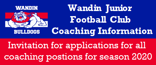 Coaching Positions for 2020