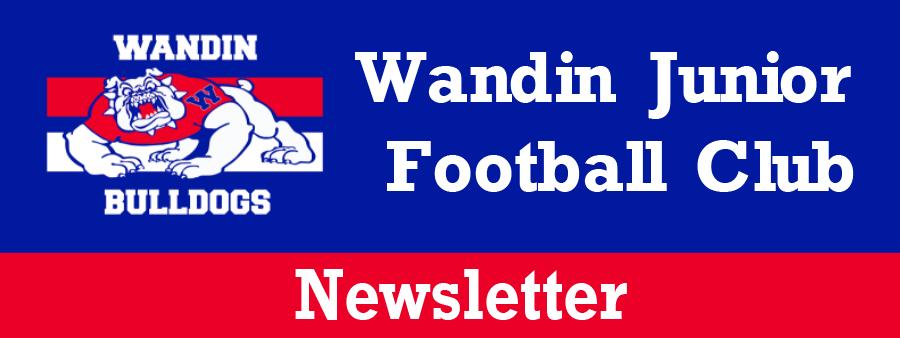 Wandin Junior Football Club May Newsletter